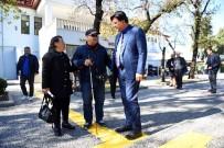 FETHIYE BELEDIYESI - Görme Engelli Vatandaşlardan Başkan Karaca'ya Teşekkür