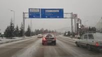 Karabük'te Kar Yağışı Yeniden Başladı