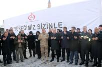 SİVAS VALİSİ - Sivas'tan, İdlib, Elazığ Ve Malatya'ya 7 Tır Yardım Malzemesi