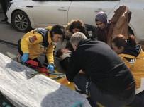 Yolun Karşısına Geçmeye Çalışan Yaşlı Kadına Otomobil Çarptı
