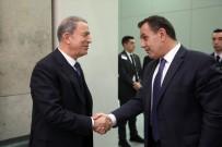 DIYALOG - Bakan Akar, Yunanistan Savunma Bakanı Panagiotopoulos ile görüştü