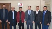 BELEDİYE MECLİS ÜYESİ - Başkan Gür'den KGK Temsilcisi Taş'a Ziyaret