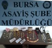 Bursa'da Yatak Odası Hırsızları Yakalandı
