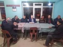 YUNUSLAR - Deveciler Kırsal Mahalle Ziyaretlerine Devam Ediyor