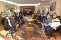 GENÇ FENERBAHÇELİLER - Genç Fenerbahçeliler Taraftar Grubu'ndan Protokol Ziyaretleri
