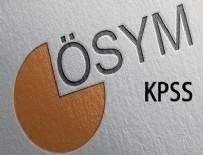KAMU PERSONELI SEÇME SıNAVı - KPSS tarihleri açıklandı! KPSS sınav ve başvuru tarihi ne?