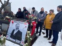 TAZİYE MESAJI - Mehmet Özet Kabri Başında Anıldı