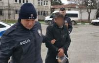 POLİS MERKEZİ - Park Halindeki Aracın Lastiklerini Kesip Camını Kırdı