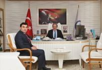 YEŞILAY - Yeşilay Cemiyeti Bayburt Şube Başkanı Akcan'dan Rektör Coşkun'a Ziyaret