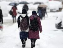 TÜRKER ÖKSÜZ - 24 ilde eğitime kar engeli!