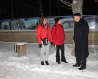 KIŞ MEVSİMİ - Başkan Pekmezci Karla Mücadele Çalışmalarını Sahada Takip Etti