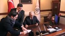 ÇIĞ ALTINDA - Binali Yıldırım Erzincan'da Ziyaretlerde Bulundu