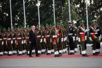 ULAŞTIRMA VE ALTYAPI BAKANI - Cumhurbaşkanı Erdoğan, Resmi Törenle Karşılandı