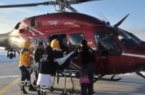 DIYABET - Diyabet Ve Tansiyon Hastasının İmdadına Polis Helikopteri Yetişti