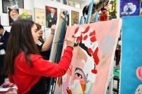 ANİMASYON - Geleceğin Sanatçılarının Eserleri Valilik Binasında Sergileniyor
