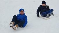 HALK EĞİTİM - Kahramanmaraş'ta Eğitime Kar Engeli