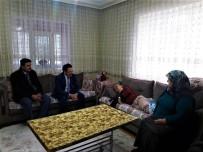 ŞENYURT - Kaymakam Alkan'dan Engellilere Ziyaret