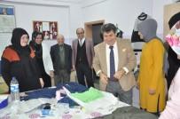 Kaymakam Tortop Ve Başkan Çöl, Halk Eğitim Merkezi'nde İncelemelerde Bulundular
