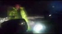 ÇIĞ ALTINDA - Kayseri-Kahramanmaraş Kara Yolu Çığ Düşmesi Sonucu Ulaşıma Kapandı