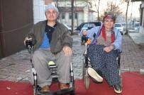 YAŞAM MÜCADELESİ - 14 Şubat'ta Evlenen Engelli Çiftin 8 Yıllık Engelsiz Yaşama Azmi