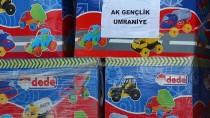 TAAHHÜT - AK Partili Gençler Depremzede Çocuklara Oyuncak Gönderdi