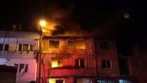 Bursa'da 3 Katlı Plastik İmalathanesinde Çıkan Yangın Söndürüldü