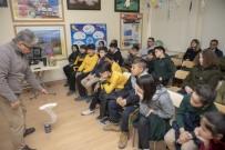 ÇEVRE TEMİZLİĞİ - Çocuklara Temiz Denizin Önemi Anlatıldı