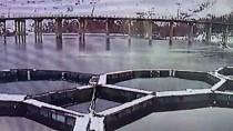 Fırat Nehri'nde Bir Kişinin Öldüğü Botun Batma Anı Kameraya Yansıdı
