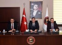İPEKYOLU - GSO'da 'Saha İstanbul İşbirliği Çalıştayı' Yapıldı