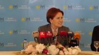 MERAL AKŞENER - İYİ Parti Genel Başkanı Akşener Partisindeki İstifalara İlişkin Konuştu