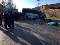İŞÇİ SERVİSİ - İzmir'de 4 Kişinin Öldüğü Kazaya Sebebiyet Veren Sürücü Tutuklandı