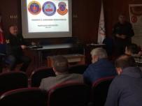 TRAFİK KURALLARI - Jandarmadan Servis Şoförlerine Trafik Semineri
