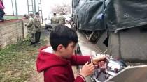 MEHMETÇIK - Sınırdaki Çocukların Mehmetçik Sevgisi