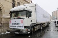 SİVAS VALİSİ - Yardım Tırları Elazığ Ve Malatya İçin Sivas'tan Yola Çıktı