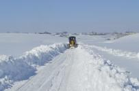 EYLEM PLANI - Ağrı'da Kapanan Köy Yollarını Açma Çalışmaları Sürüyor