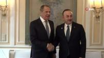 RUSYA - Bakan Çavuşoğlu, Lavrov'la Görüştü