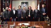 ANADOLU ÜNIVERSITESI - Başkan Ataç Akademisyenleri Ağırladı