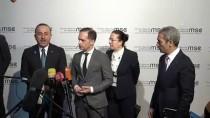 ALMANYA DIŞİŞLERİ BAKANI - Çavuşoğlu, Almanya Dışişleri Bakanı Maas İle Ortak Basın Toplantısında Konuştu Açıklaması (1)