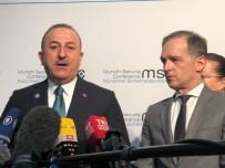 ALMANYA DIŞİŞLERİ BAKANI - Dışişleri Bakanı Çavuşoğlu Açıklaması 'Libya'da Tek Çözüm Siyasi Çözümdür'