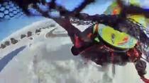 ERGAN DAĞI - Ergan Dağı Kayak Merkezinde Ekstrem Sporları Heyecanı
