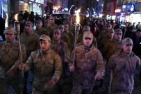 KAMURAN TAŞBILEK - Gümüşhane'de Eksi 5 Derecede Kurtuluş Yürüyüşü