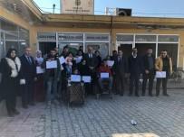 HALK EĞİTİM - Kızıltepe'de Engellilere Yönelik Muhasebe Yardımcısı Kursu Tamamlandı