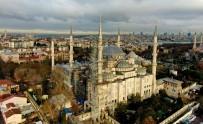 SULTANAHMET - (ÖZEL) Sultanahmet Camisi'nin Restorasyonu Yüzde 30'U Geçti