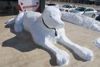 MOBİLYA - Sivaslının Kardan Adamı Böyle Olur