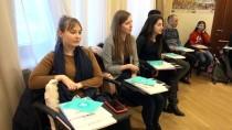SEÇMELİ DERS - Ukraynalılar Türkçe Derslerine İlgi Gösteriyor