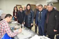 BELEDİYE MECLİS ÜYESİ - AK Parti'li Heyet Yunus Emre Kültür Parkına Hayran Kaldı