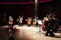 KÜLTÜR SANAT - Bodrum'da 8 Viyolonsel Ve Klasik'ten Tango'ya Beğeni Topladı