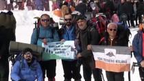 ERCIYES - Hacılar Erciyes 10. Uluslararası Zirve Tırmanışı Tamamlandı