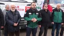 FIRAT KALKANI - Kastamonu İHH'den İdlib'e 2 Tır Yardım Malzemesi Gönderildi