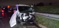 TEM Otoyolunda Korkunç Kaza Açıklaması 2 Ölü